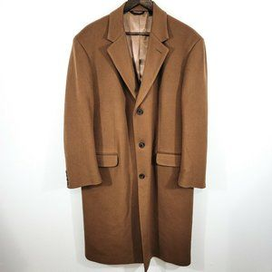 Jacob Siegel Loro Piana Lambs Wool Caramel Coat